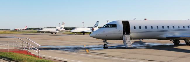 Domodedovo Business Aviation Center Apron