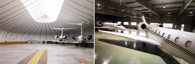 Domodedovo Business Aviation Center Hangars